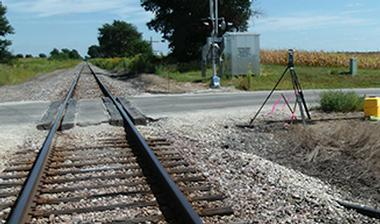 Chicage to Quad Cities at Grade Rail Crossing Surveys